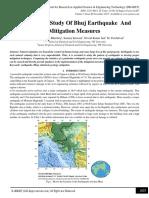 G1-Engineering Study of Bhuj Earthquake and Mitigation Study