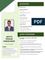 Aditya P Samataray.