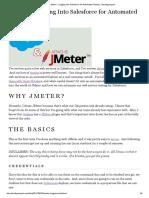 JMeter - Logging Into Salesforce for Automated Testing » Deadlypenguin