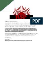 Konferenzmappe RSP 2017