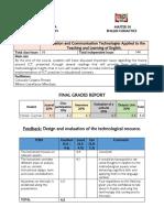 Ict Course - Grades Report