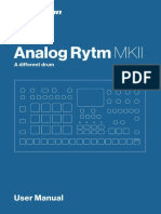 Analog Rytm MKII User Manual ENG