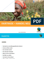 Fairtrade Praesentation Basis