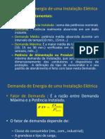 metodologia para calculo de demanda em edificios