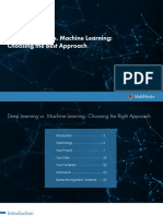 Deep Learning vs Machine Learning eBook