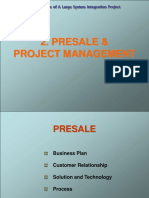 03 Presale Project Management