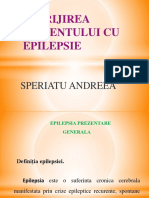 Prezentare Power Point Epilepsia Speriatu Andreea