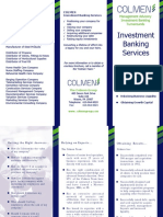 Ivestment banking service III