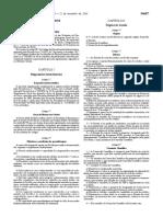 Regulamento Do Segundo Ciclo de Estudos Em Gestao