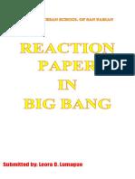 Reaction Paper Lalaaaaaa