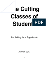 The Cutting Classes of Students