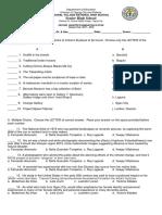 Second Quarter Examination in CPAR