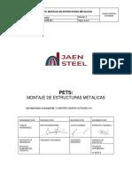 Js-ss-pr-014 Pets Instalacion de Estructuras Metalicas