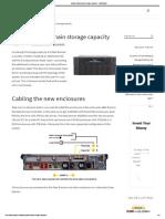Adding Data Domain Storage Capacity - FastStorage