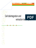 1. Cell Disruption 2