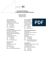 7th Meeting List of Participants