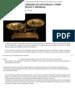 Astrodinas o Dignidades Planetarias_ Cómo Cuantificar Sus Pesos y Medidas - Astrologos Del Mundo