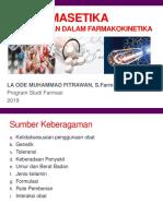 Biofarmasetik Keberagaman Dlm Farmakokinetik - Copy