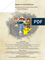 Pokemon 5e PHB - Gen I - V