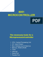 8051 MICROCONTROLLER (1)