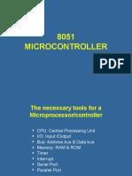 8051 MICROCONTROLLER (1)