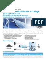 Delta Industrial Internet of Things (IIoT)