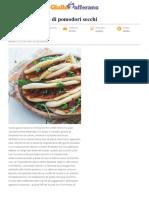 Pita Con Hummus Di Pomodori Secchi