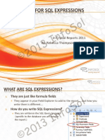 SQL Expressions in Good