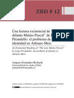 Difunto Matias Pascal