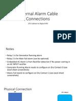 External Alarm Connections - DOM.pptx