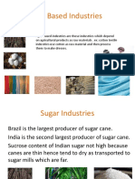 agro based industries