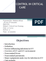 INFECTION CONTROL IN CRITICAL CARE BY MISBAH.pptx