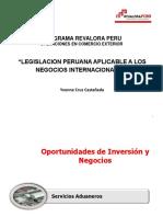 LEGISLACION NEGOCIOS INTERNACIONALES - Dra. Yvonne CRUZ CASTA+æEDA