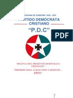 Programa de gobierno del Partido Demócrata Cristiano (PDC)