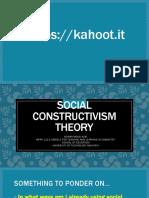 Slide Presentation -Social Constructivist