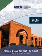 MDI Gurgaon Final Placement Report 2015-2017.pdf