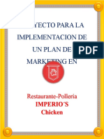 Proyecto Plan de Marketing Imperios Chicken