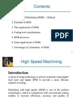High Speed Machining 2003