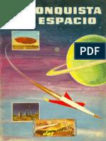 1956 Album JET La Conquista Del Espacio