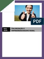 Valorização e empreendedorismo rural