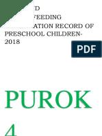 purok matters