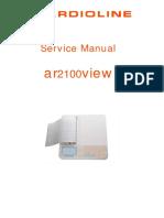 manual de servicio cardioline 2100