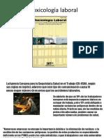 1-Toxicologia Laboral Clase