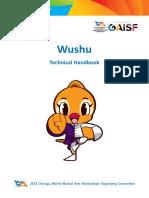2019 Chungju World Martial Arts Masterships Wushu Competition Technical Handbook En