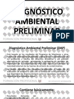 DIAGNÓSTICO AMBIENTAL PRELIMINAR