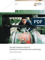 Through Competence-Based to Employment-Oriented Education and Training. a Guide for TVET Practitioners
