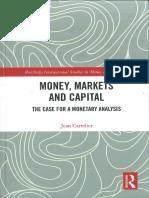 Jean Cartelier - Money, Markets and Capital (2018)