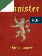Lannister Manual del General