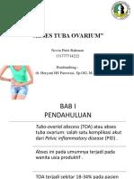 laporan cases Tuba Ovarium Abses