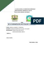 Año Contra La Lucha Contra La Corrupción e Impunidad Derecho Informe